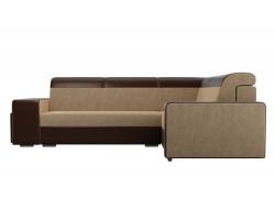 Угловой диван Мустанг с двумя пуфами Правый